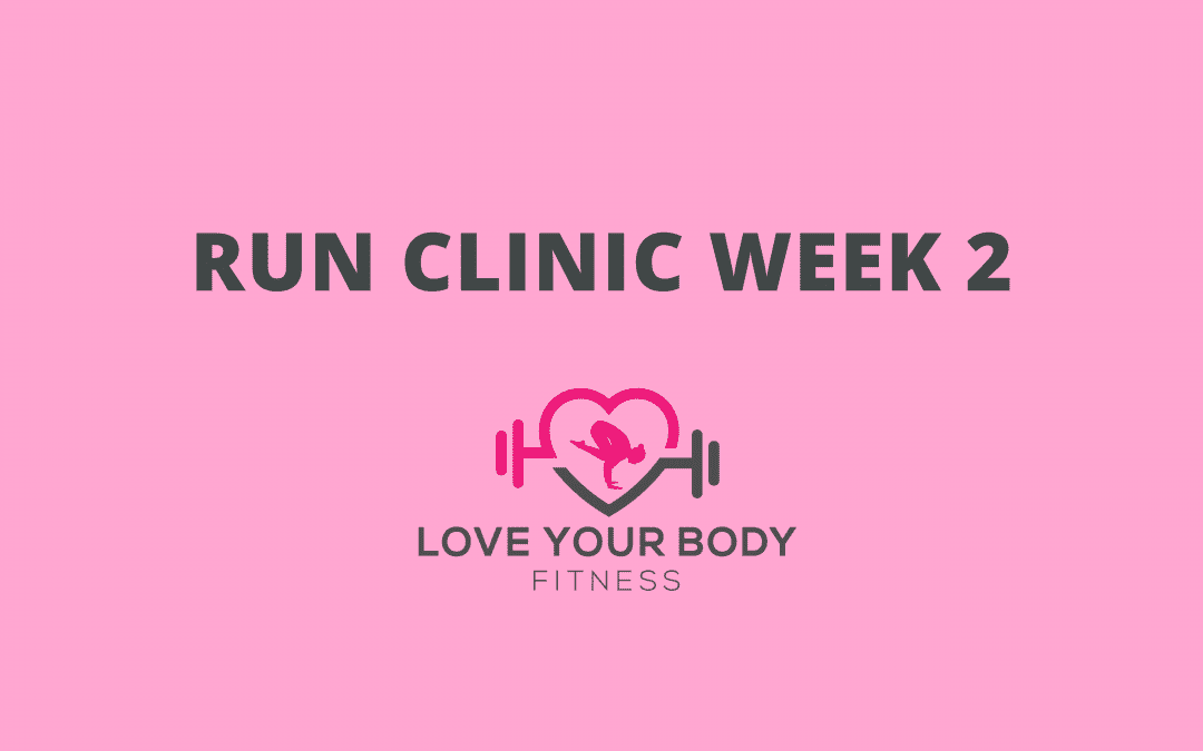 Run Clinic Week 2